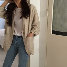 Classy Outfits, Pretty Outfits, Casual Outfits, Cute Outfits, Fashion Outfits, Fashion Hacks, Korean Fashion Trends, Korean Street Fashion, Korea Fashion
