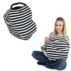 JLIKA multi-use nursing covers also functions as a car seat cover, baby swing cover, stroller cover and shopping cart cover - with jlika covers you can truly enjoy your motherhood day in style!