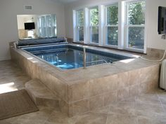 Swim at Home, year-round with an indoor Endless Pool!
