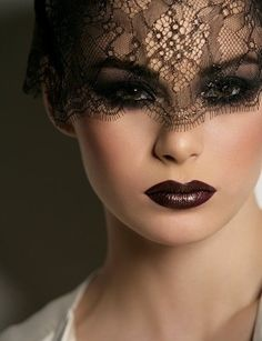 Even if it's only once, I will dare to go Dark Brown for lip color.