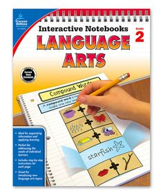Look at this Grade 2 Language Arts Workbook on #zulily today!