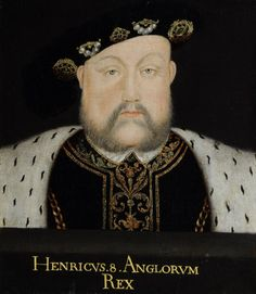 King Henry VIII (1491–1547) Portrait by British (English) School, 1530-1569. The painting does not appear to be contemporary and therefore is unlikely to be one of the two portraits of the King included in the 1601 inventory. It is most probably a later copy.