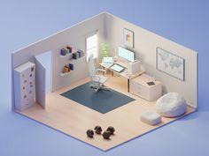 https://dribbble.com/shots/3889470-My-perfect-room