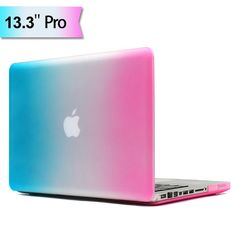 "Macbook Pro 13"" - Smuk Regnbue Mat PC Hard Cover"