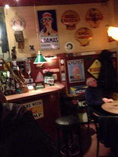 #PalaeBar#Kopenhagen. Tolles Ambiente, falls man Zigarettenrauch bei einem 50 Kronen Bier mag. Sehr nettes Personal.