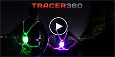 Tracer360 Feature Video - High Visibility Vest for Running and Cycling: Great for those runs in the dark.