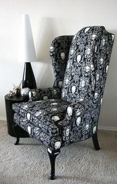 15 skull furniture designs - Skullspiration.com - skull designs, art, fashion and more