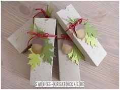 Sabines-Kreativecke: Herbstliche Geschenkverpackung