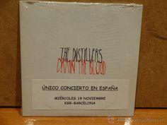 THE DISTILLERS. DRAIN THE BLOOD. CD SINGLE PROMO / REPRISE - 2003. 1 TEMA. PRECINTADO.