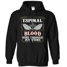 ESPINAL - #pullover hoodie #white hoodies. BUY TODAY AND SAVE   => https://www.sunfrog.com/Camping/ESPINAL-Black-88612575-Hoodie.html?id=60505