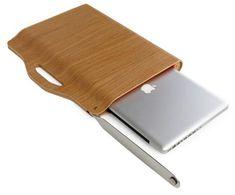 Wood Laptop Valise