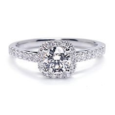 Cushion Cut Engagement Rings Under 2000 19