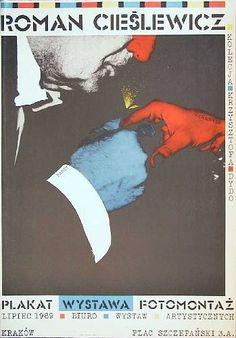 Roman Cieslewicz plakat fotomontaz