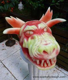 Demon Dog by Clive Cooper of Sparksfly Design
