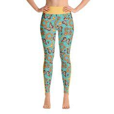 Butterflies & keys Yoga Leggings