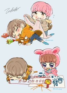 This Is Legitimately The Cutest BTS Fanart You've Ever Seen — Koreaboo