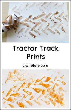 Tractor Track Prints - Craftulate