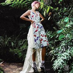 Royal Floral. Reflects your inner nobility and natural spirit through a classy dress incorporated with floral schemes. Stylist: Elke Dostal Photography: Oliver Beckmann Makeup & hairdo: Sigi Kumpfmuller Model: Laura Jaraminalte @ M4 Models Post production: Sina Valkonen Location: Botanical Garden Erlangen #marieclaireindonesia #marieclaire #marchissue #march #floral #nature #royal #fashiospread #fashionstory  via MARIE CLAIRE INDONESIA MAGAZINE OFFICIAL INSTAGRAM - Celebrity  Fashion  Haute…
