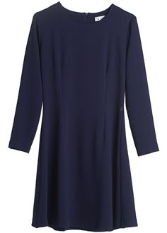 Ottod'ame Kjole mørkeblå DA2806 Mughetto Abito - blue – Acorns