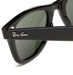 Ray-Ban - Lunette de soleil RB2140 Wayfarer Original Wayfarer 54 mm, Noir ( 58a5113c340d