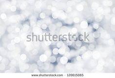 silver bokeh background macro close up - stock photo