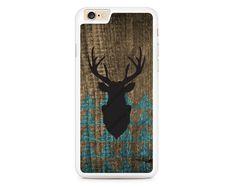 Deer on Wood, Elk, Horns Design Case for iPhone 4 4s 5 5s 5c 6 6 Plus 6s 6s Plus, Samsung Galaxy S3 S4 S5 S6 S6 Edge S7 S7 Edge LG G3, LG G4, HTC One M8, HTC One M9, Sony Xperia Z3