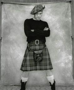 Love Ewan...especially dressed for Scotland!