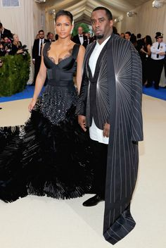 OK, I feel it  Diddy and Cassie Met Ball 2017