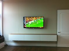 pictures floating media cabinet #28938