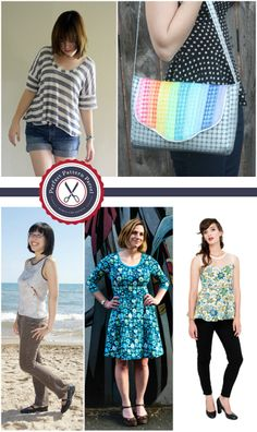 sew: Perfect Pattern Parcel #1, Sewing Patterns for Modern Women - Choose your price and support children's education || imaginegnats.com