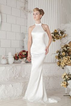 Trumpet/Mermaid V-Neck Satin Celebrity Gown ted1837 - SILHOUETTE: Trumpet/Mermaid; FABRIC: Satin; EMBELLISHMENTS: Ruched; LENGTH: Sweep/Brush Train - Price: 156.6500 - Link: http://www.theeveningdresses.com/trumpet-mermaid-v-neck-satin-celebrity-gown-ted1837.html