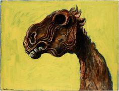 AGNSW collection Albert Tucker Apocalyptic horse (1956) 286.1982