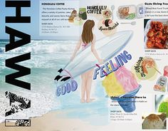 """Check out new work on my @Behance portfolio: """"HAWAI"""" http://on.be.net/1Er7Oex"""