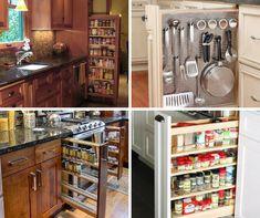 9+1 elképesztően praktikus és gyönyörű konyhafiók - Konyhatrend French Door Refrigerator, French Doors, Kitchen Appliances, Storage, Home, Organization, Kitchens, Kitchen Tools, Organisation