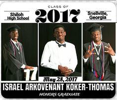 (LET THE CELEBRATIONS BEGIN) Shiloh High School #honorsgraduate #ISRAELKOKERTHOMAS #honorgraduatemedal2017 #APCALCULUS #INTERNATIONALBACCALAUREATECAREERPROGRAM #TheTECHNOLOGYSTUDENTASSOCIATION  #TSA #APADVANCEDPLACEMENTCALCULUS #APCALCULUS #5ORMOREAPADVANCEDPLACEMENTCLASSES #KOKERTHOMASKID #HANDSOMENBRAINS #HONORSGRAD #honorsgraduates #GENUIS #HISTORYINMAKING #GIFTED #GODSFAVORITE #SHILOHHIGHSCHOOL #GRADUATION #PROUDPARENTS #CLASSOF2017 #PASTORSKOKERTHOMAS #Shilohhighschool