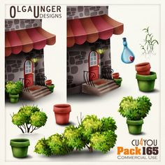 cu pack 165 by OlgaUnger Designs