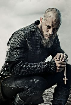 Ragnar after Athelstans death. This looks like it could be a rap album cover.