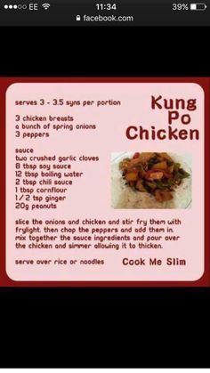Bariatric Recipes, Healthy Eating Recipes, Low Calorie Recipes, Healthy Cooking, Diet Recipes, Chicken Recipes, Cooking Recipes, Healthy Foods
