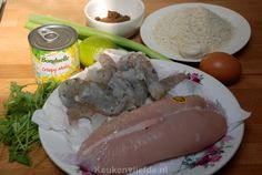 Kip-garnaal-maiskoekjes met chilisausdip - Keuken♥Liefde