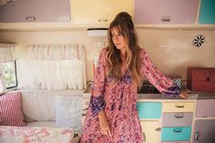 Love this dress! Christina Macpherson for Spell & The Gypsy Collective | Folk Town Boho Dress