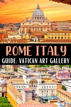 Here's my guide to visiting the Vatican Pinacoteca, the Vatican's picture gallery. It's one of the world's best small museums. I identify 18 masterpieces in the Pinacoteca and give you tips for visiting the renowned, but largely secret, art gallery. More than 7 million people visit the Vatican each year. But very few realize that there's more to the Vatican than the Raphael Rooms and the Sistine Chapel. In the Pinacoteca, you'll find masterpieces by Leonardo, Caravaggio, Giotto, and Raphael. Rome Travel, Italy Travel, Visiting The Vatican, Museum Guide, Day Trips From Rome, Best Travel Guides, Sistine Chapel, Visit Italy, Hidden Treasures
