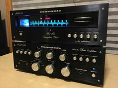 I love vintage Marantz hifi stereo equipment.