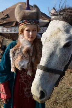 "Julia Peresild as Ustinya in the russian series ""The Golden Horde"" 