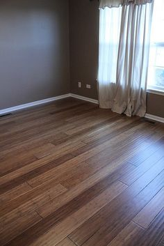 """""""We just installed in our Master Bedroom, and I couldn't be happier with the results so far... Our bedroom was done to 'test' it and see if we like it. I LOVE it. It gives the room a whole different feel. So much warmer."""" [Handscraped Bamboo]"""