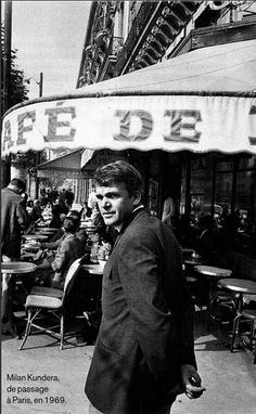 Milan Kundera - his books got me reading.  I thank him every day for lighting the fire.