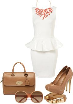 """Sophisticated Spring Summer Outfit"" by natihasi on Polyvore"