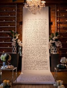 50 Awesome Indoor Wedding Ceremony Backdrops | HappyWedd.com