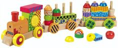 Eichhorn, Trätåg med ljud & ljus, 59 cm Wooden Train, Wooden Toys, Grandkids, Clothes, Accessories, Games, Wooden Toy Plans, Outfits, Wood Toys