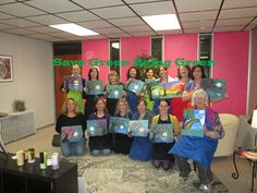 Save Green Being Green: Wordless Wednesday: Paint Party at Upper East Side