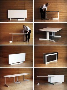 table basse transformable et relevable supra teinte de bois et de laque nos tables. Black Bedroom Furniture Sets. Home Design Ideas